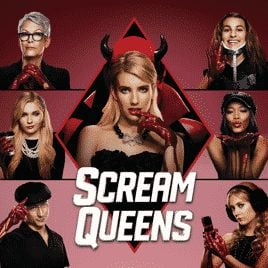 Scream Queens on Fox is hilarious and stars Emma Roberts, Jamie Lee Curtis, Lea Michelle, Abigail Breslin, John Stamos, Taylor Lautner. The Chanels keep ending up around serial killers and saying horrible things while people around they get murdered. Check out these life lessons from Scream Queens - the confused millennial