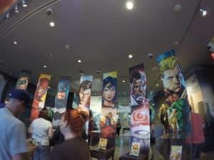 dc universe exhibit warner bros studios