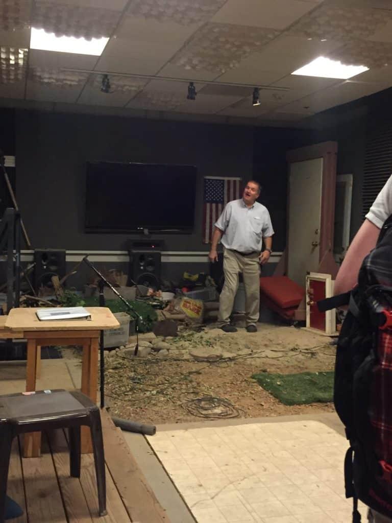 warner bros studio deluxe tour audio stage
