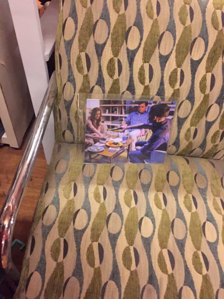 warner bros studio deluxe tour dexters chair