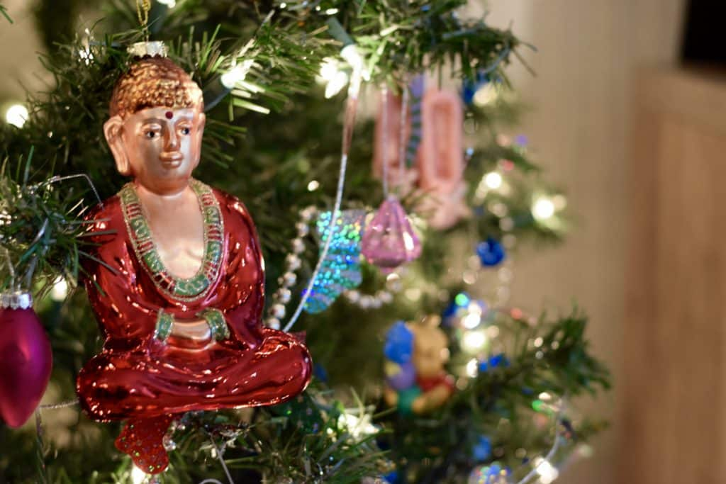 the confused millennial christmas tree december goals