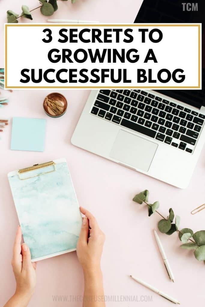 3 secrets to grow your blog, how to grow blog traffic with pinterest fast, tips to growing blog, blogging for beginners, ideas for starting a blog to make money as a mom, feel almost ready to launch and grow your blog? read this helpful advice for newbie and novice bloggers or professional bloggers feeling stuck, #blogtips, #bloggingtips