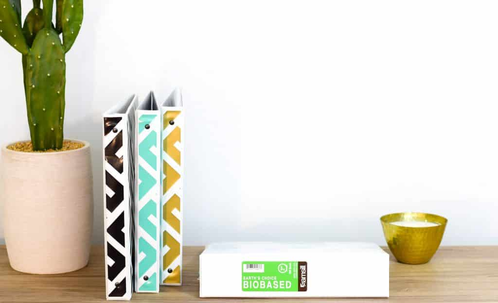 DIY planner with samsill