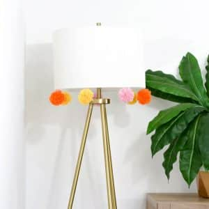 How To DIY A Pom-Pom Lamp (Or Anything) - the confused millennial, millennial blog