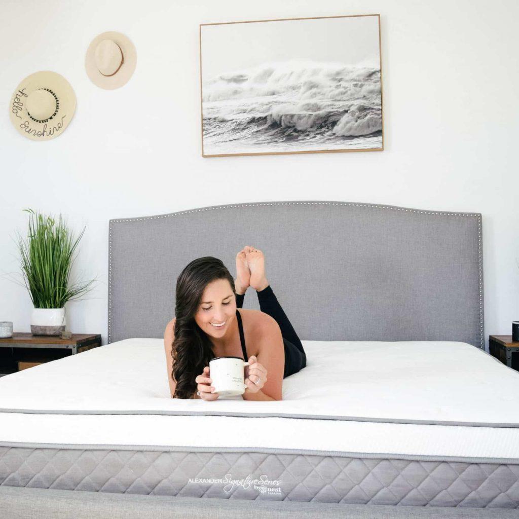 master bedroom ideas on a budget, cozy neutral modern bedroom design, #masterbedroom, nest bedding alexander series