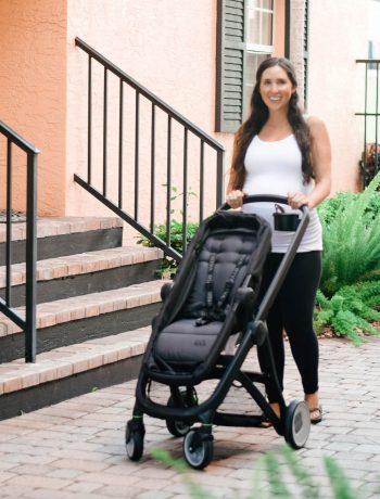 What To Look For In A Stroller New Mom Perspective vs. New-Dad Perspective Review RIVA Stroller, lightweight convertible travel system and car seat stroller review, best stroller for a new born with carseat combo #stroller, #strollerreview, #travelsystem