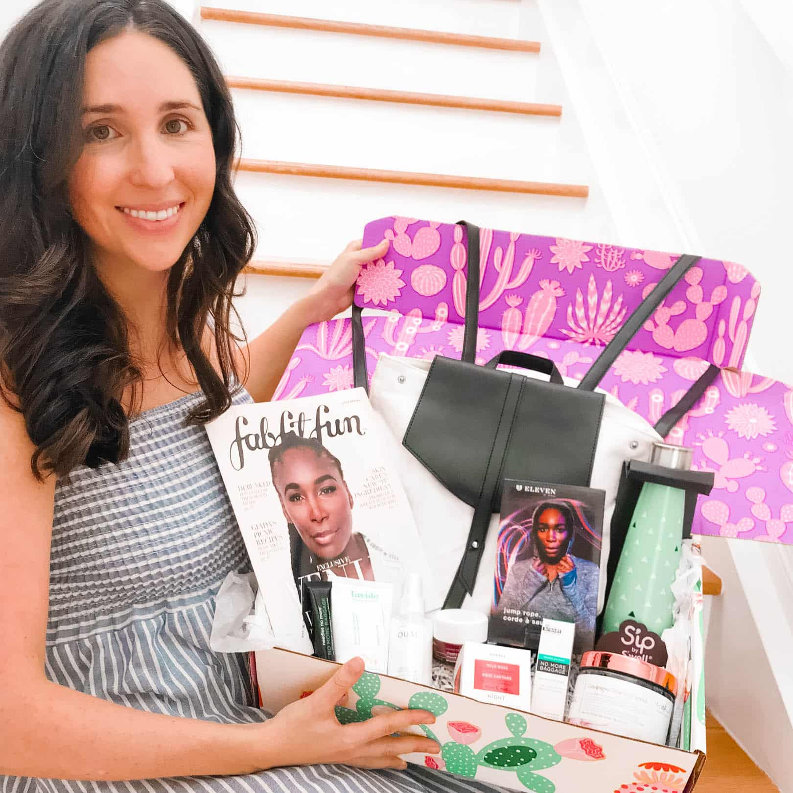Instagram Made Me Do It: FabFitFun Spring Box 2019 Review, subscription box gifts delivered, fabfitfun coupon, spoiler of products and unboxing of fabfitfun items for fitness, beauty, fashion, and lifestyle