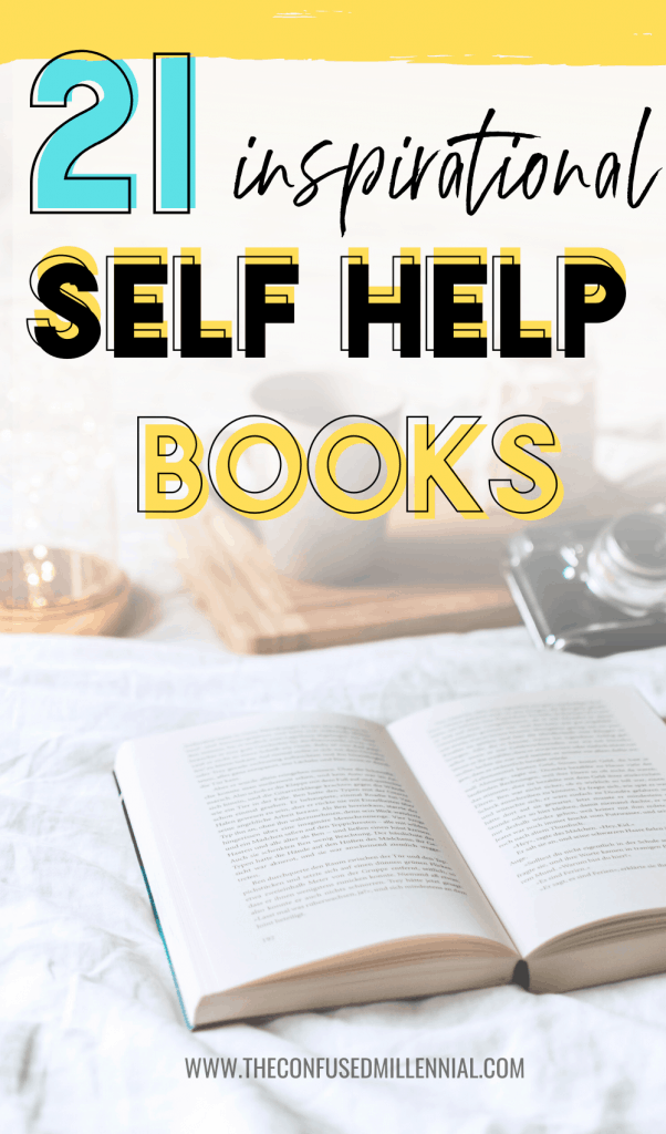 21 inspiring and motivational self care books for women in their 20s or 30s or 40s, life changing personal development books, must read self care books for moms, the best personal growth books to read for motivation, #booklist, #selfcarebooks, #selfhelpbooks, #personaldevelopmentbooks
