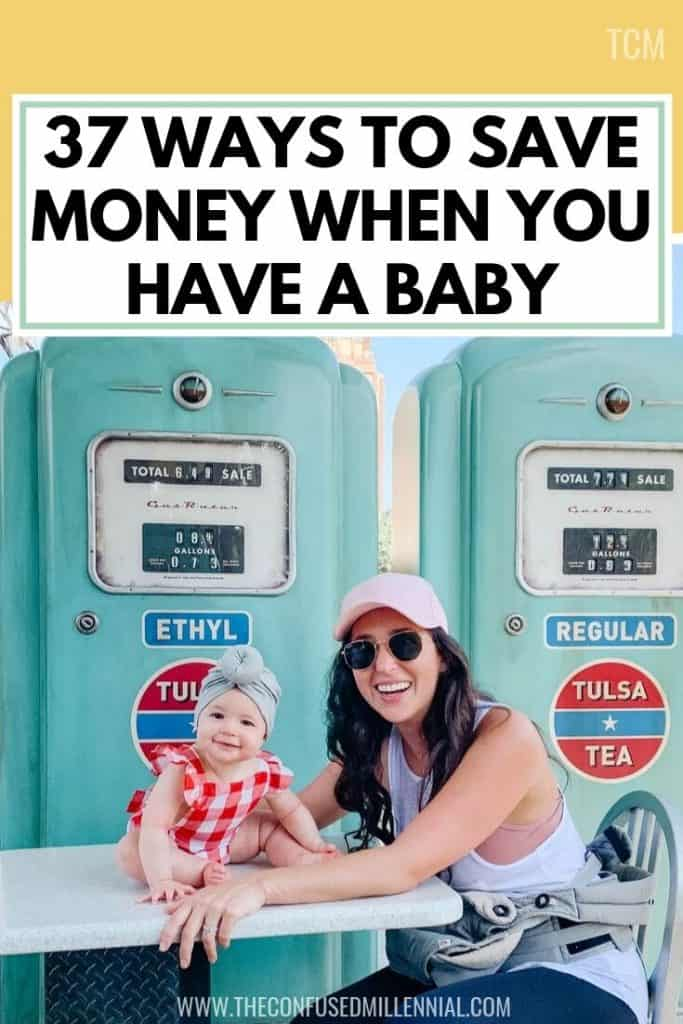 37 Ways To Save Money When You Have A Baby, tips to prepare financially for the first year with a baby, easy ways to save cash with a newborn, money tips for preparing for baby when you're pregnant, personal finance tips for new parents, budget ideas for new mom, financially responsible dad, #savemoneybaby, #savemoneynewborn, #budgettips, #savingmoneybaby, #savingmoney