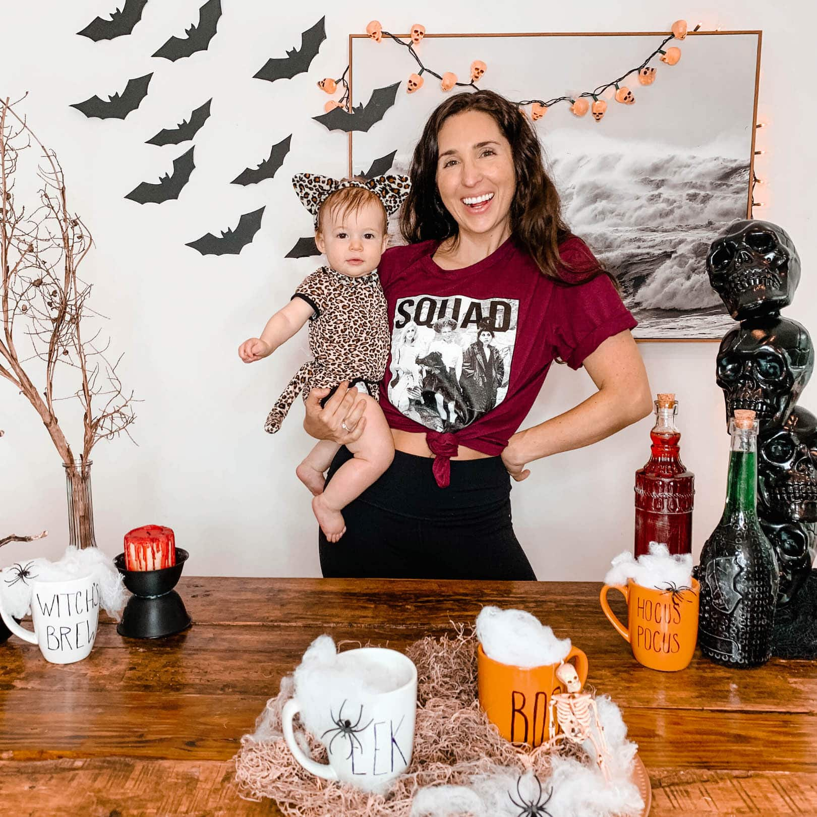 7 Easy Dollar Tree Halloween Decoration DIY Ideas You Need To Try This Year, how to make scary simple dollar store halloween decorations for haunted houses, center pieces, kids, a party, or an apartment, videos for halloween decorations like making your own apothecary jars, bloody candlesticks in candle holders, make paper bats for beautiful halloween effect, skull tower for front porch, skeleton skull garland using christmas lights, #dollarstore, #dollartree, #halloweendecor, #halloweendiy, #halloweendecorations, #budgethalloween, #halloweencrafts, easy halloween crafts for families
