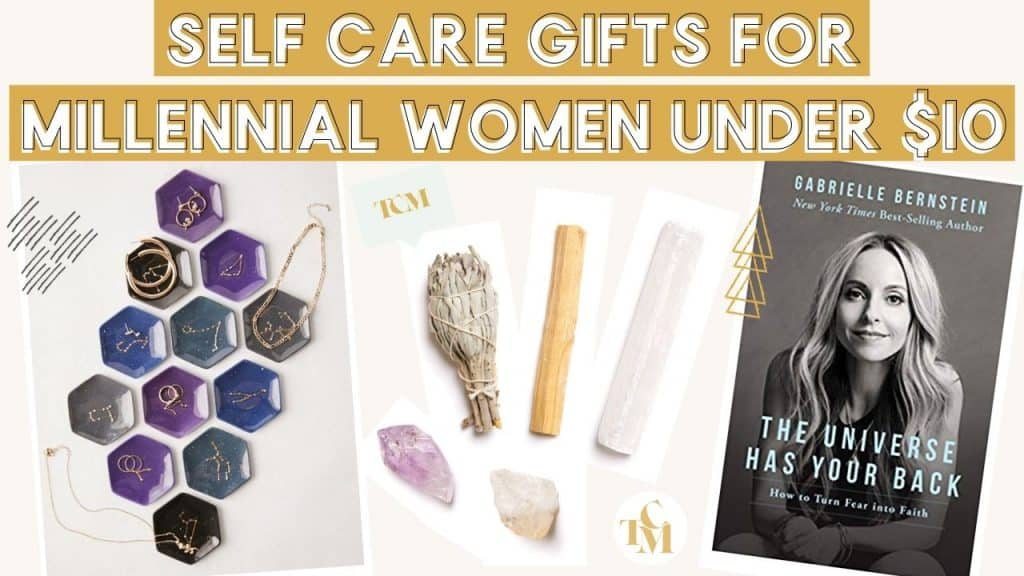 Ultimate Gift Guide For Millennial Women: Self Care & Spirituality Obsessed Gifts For Under $10
