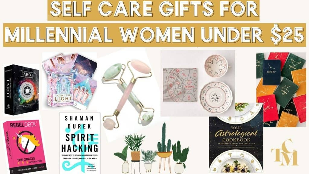 Ultimate Gift Guide For Millennial Women: Self Care & Spirituality Obsessed Gifts For Under $25