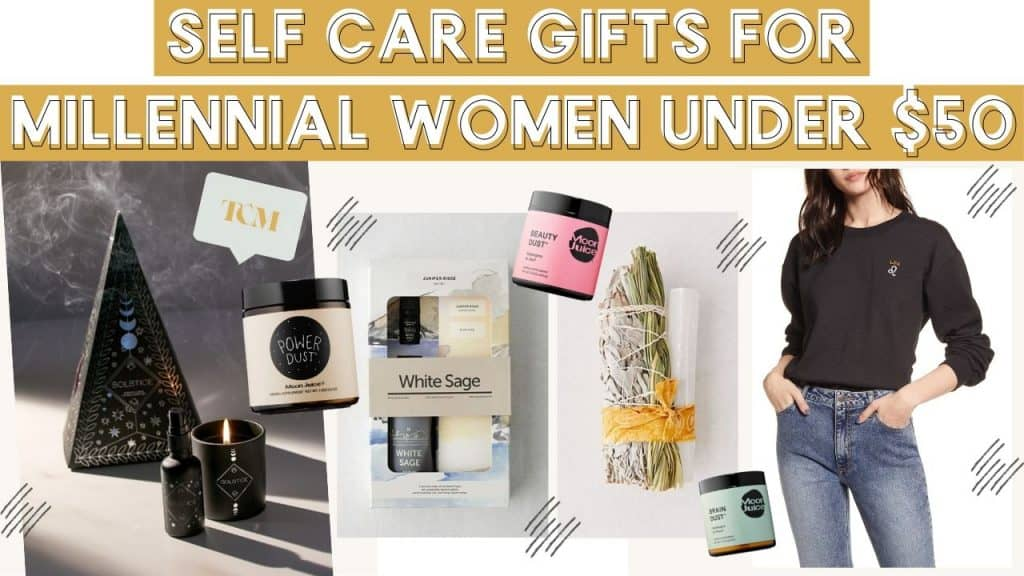 Ultimate Gift Guide For Millennial Women: Self Care & Spirituality Obsessed For Under $50 (most around $30!)