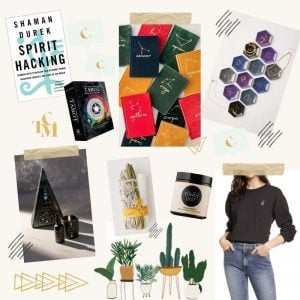 Ultimate Gift Guide For Millennial Women: Self Care & Spirituality Obsessed, best christmas gift ideas for women in their 20s or in their 30s who have everything, inexpensive and creative gifts you can buy or DIY for a secret santa, top 10 cheap and last minute and unique gifts for millennial women by price point: under , under , under , under , and under 0, self care gift ideas for spirit junkies, mystics, woo woo obsessed, #giftguideforwomen, #giftguide