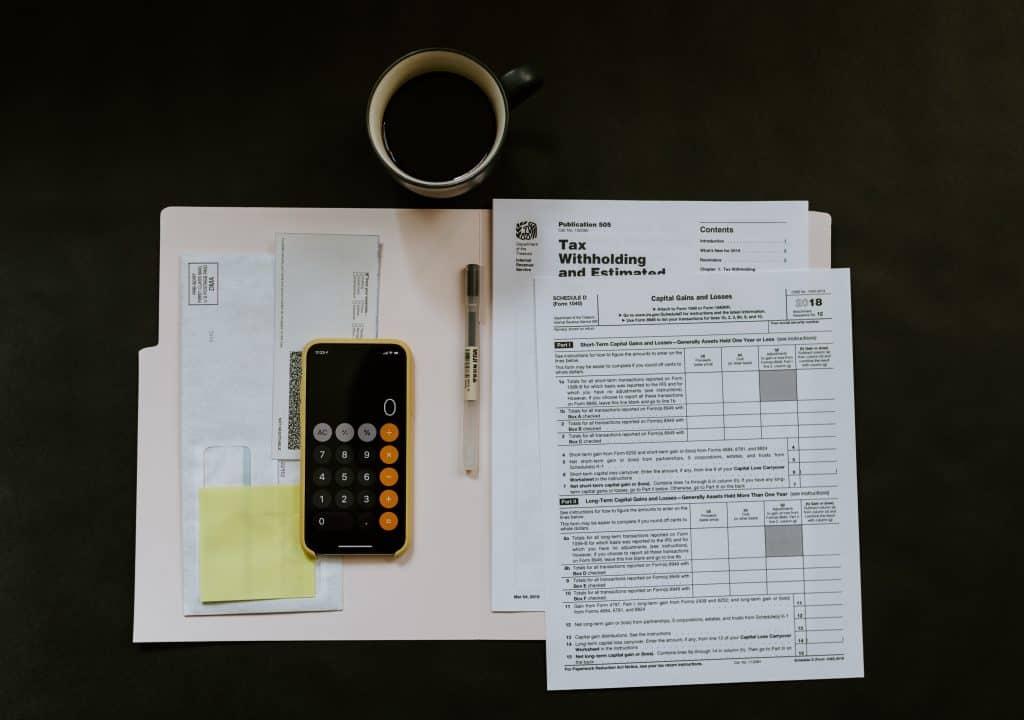 tax personal finance audit
