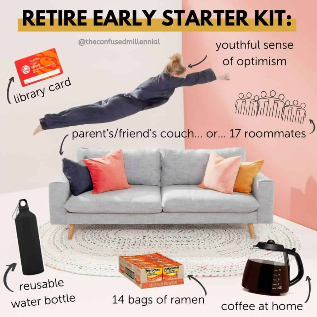 f.i.r.e. movement financial independence retire early starter kit, financial memes, fire meme, finance memes