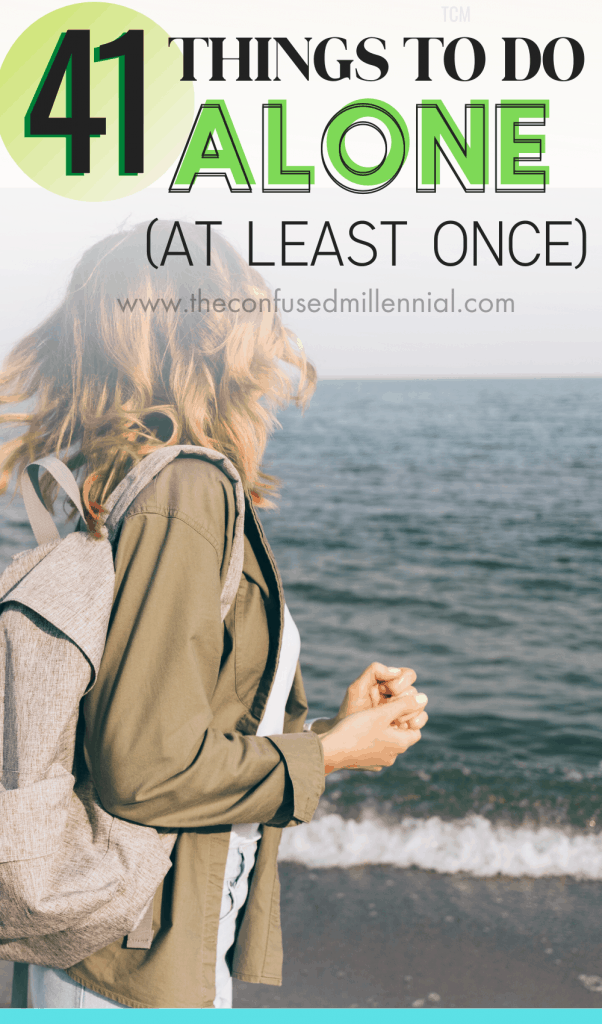 41 Things to Do Alone At Least Once in Your 20s as a woman, best ideas to do alone at home at night, at home ideas for inside or outside during daytime or nighttime, activities for woman to do at home on weekends, at home fun on new years or after a break up or during fall or in winter or on your birthday just because! #selfcare #thingstodoalone, Personal Growth Tips Self Improvement, Self Help and Care, Self Improvement Personal Development, Health & Beauty, Mental Health + Wellbeing, adulting