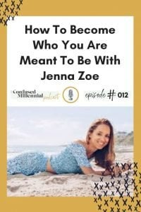 How To Become Who You Are Meant To Be With Human Design Expert Jenna Zoe, five energy types of human design, manifestor, manifesting generator, generator, reflector, projector, #humandesign, #millennialpodcast, #millennialtips