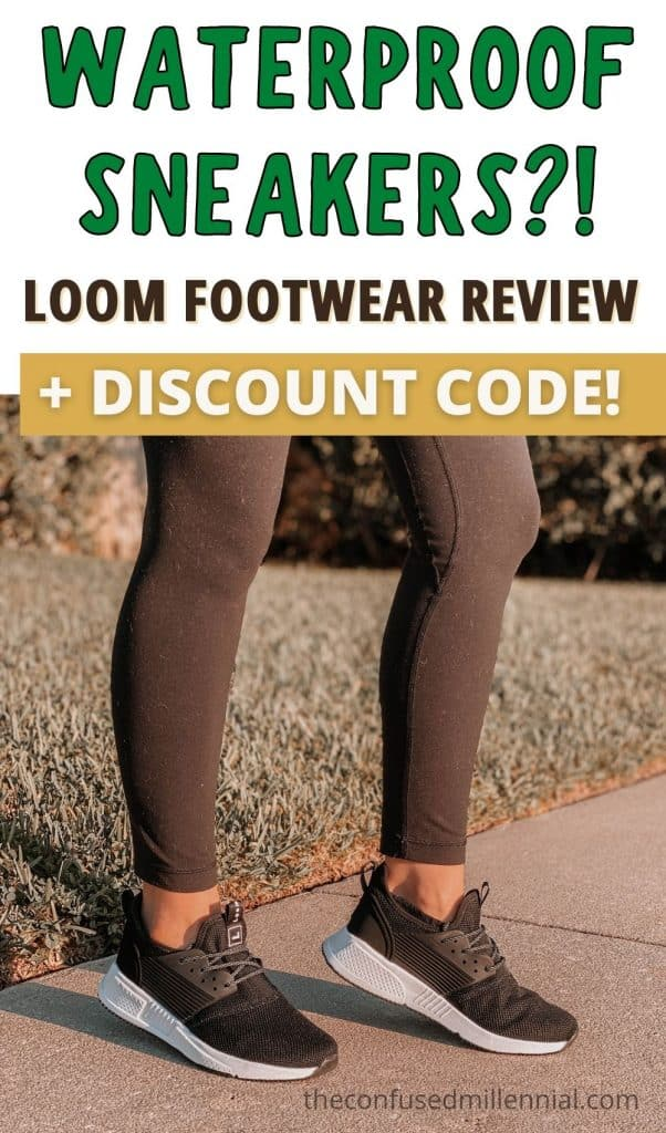 Looking for waterproof sneakers for men or women? Discover my husband and I's personal experience with Loom Footwear - the sustainably, eco friendly, stylish, waterproof sneaker! We have it in black and white PLUS readers get a discount with my promo code! Great gift for the holidays!