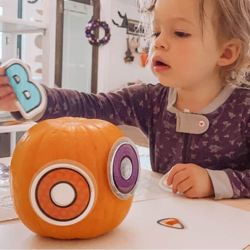 easy pumpkin activity toddler