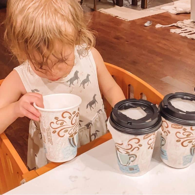 fall smelling sensory jars