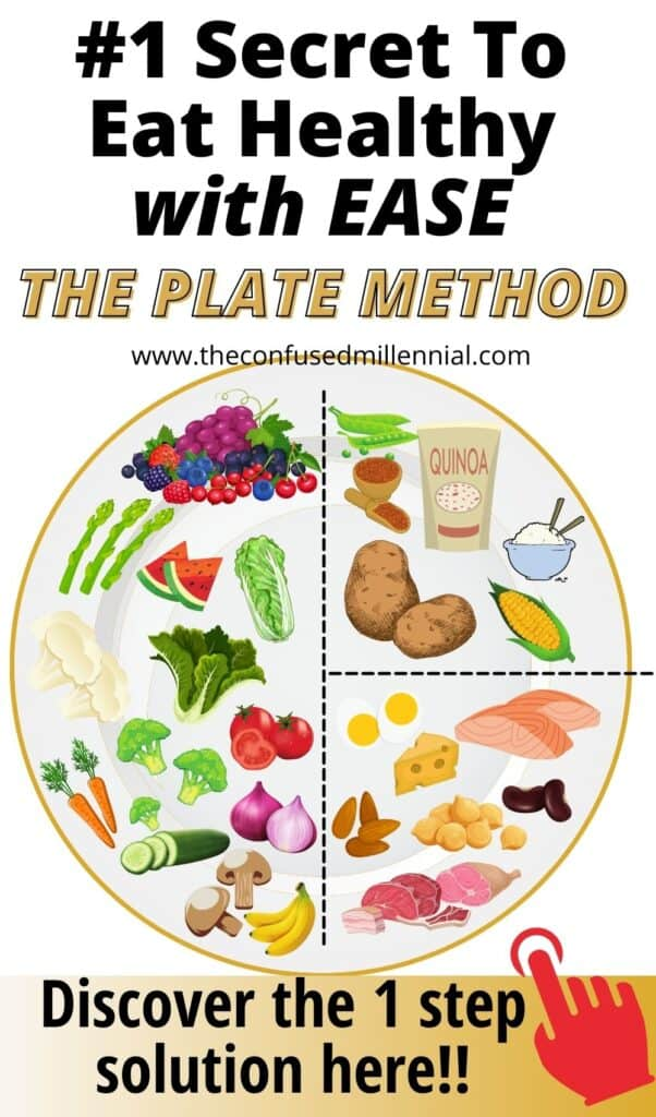 Looking for an EASY healthy eating strategy? Discover what the plate method is, how it works, and how to get started with it in your life! I'm telling you this is my #1 secret for a healthier diet without the stress!