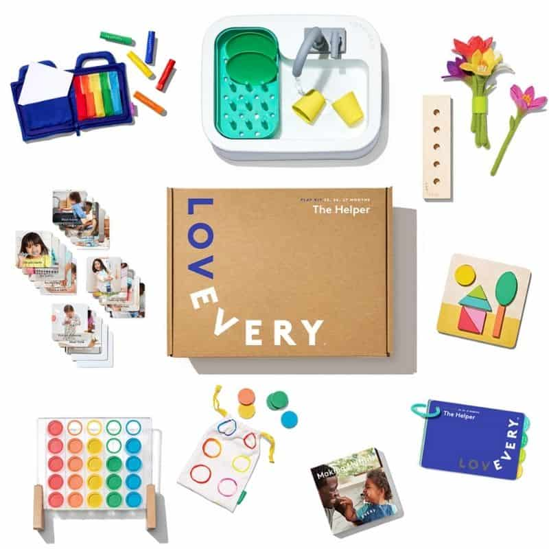 lovevery the helper play kit review