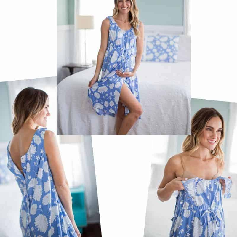 maternity pajamas for hospital
