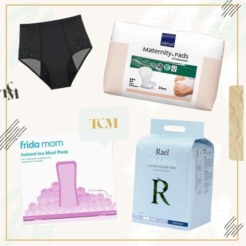postpartum pads