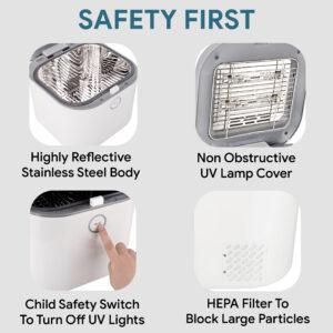 uv sanitizer safety