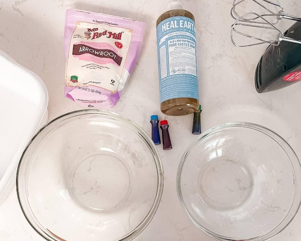 easy bubble foam recipe ingredients