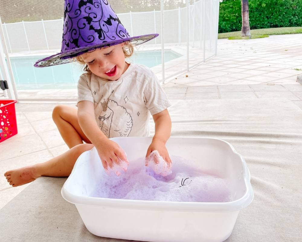 how to make play foam for toddlers